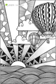 Zenking zentangle www.chanrao.me