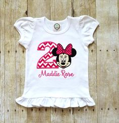 Minnie mouse birthday shirt Minnie Mouse by GrantedWishDesignCo