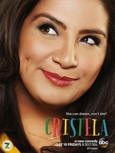 Cristela this show is funny! Love it! It's great to see a Latina not portrayed in the stereotypical maid or sex pot roll. You go Cristela!