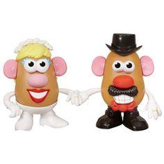 Mr. & Mrs. Potato Head Mashly in Love