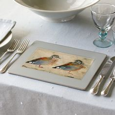 Placemat - Birds (Set of 6)