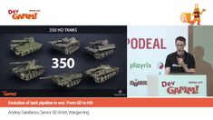 Андрей Сарафанов (Wargaming.net) - Эволюция танкового пайплайна. От SD к HD