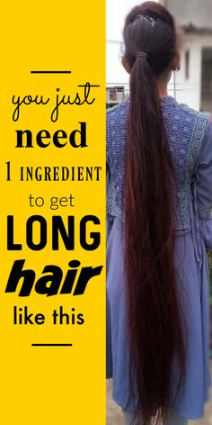All You Need Is Only This One Ingredient To Grow Long And Thick Hair Within 4 Weeks hair haircare selfcare selfcaretips selfcarebeautytips hairgrowth longhair Long Hair Treatments, Homemade Hair Treatments, Best Hair Loss Treatment, Hair Growth Treatment, Skin Treatments, Healthy Hair Remedies, Healthy Hair Tips, Healthy Hair Growth, Grow Long Hair