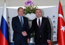 Bakan Çavuşoğlu, Lavrov'u aradı