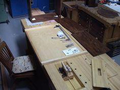 foster workbench working tray