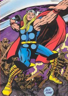 THE MIGHTY THOR by Jack Kirby