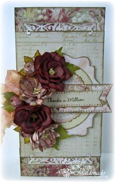Cheery Lynn Designs Blog: Thanks a Million by Karen Maldonado