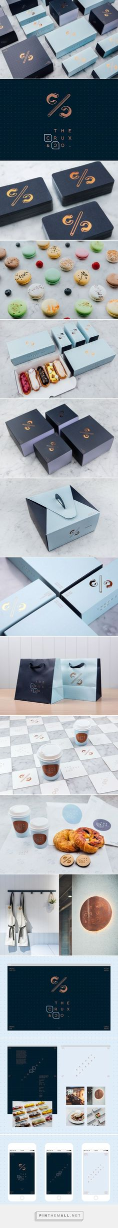 The Crux & Co. Café and Patisserie Branding and Packaging by Hue Studio | Fivestar Branding Agency – Design and Branding Agency & Curated Inspiration Gallery #cafe #cafebranding #branding #brand #branddesign #brandinginspiration #design #packaging #package #packagingdesign #packagedesign #design #behance #dribbble #pinterest