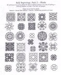 easy quilting stitch patterns - Yahoo Image Search results
