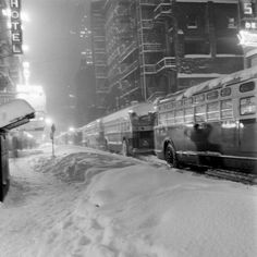 Snow, New York City, December 1947