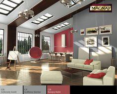 Trendy kolorystyczne - farby 2013 / Inspirujące wnętrza MAGNAT / Inspiracje