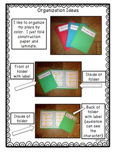 Reader's Theater for Beginning Readers FREEBIE