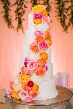 amazing wedding cakes Ideas For Amazing Wedding Cakes amazing wedding cakes tall white cake with yellow pink white coral flowers belightphotography Wedding Blog, Wedding Reception, Our Wedding, Dream Wedding, Wedding Ideas, Beautiful Wedding Cakes, Pink White, Yellow, Creative Cakes
