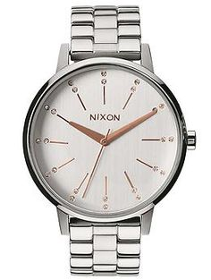 Nixon The Kensington | Piperlime  $125  I don't wear a watch anymore, but I think I'd wear this one!