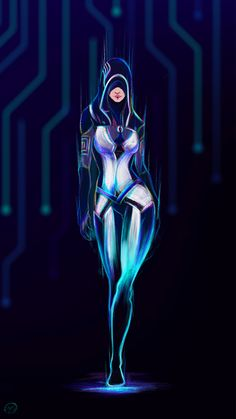 Hey all =] So I finally finished my Neon fan art of Kasumi Goto. She is so fun and a very interesting character as well. And one more to Neon club I used my Wacom Cintiq Pen&Touch and Photoshop I hope you like it =] Tali Mass Effect, Mass Effect Games, Mass Effect Characters, Sci Fi Characters, Character Inspiration, Character Art, Character Design, Design Inspiration, Landscape Photography