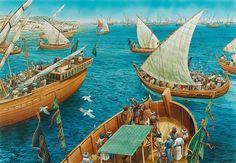 Muslim Fleet against Crete