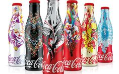 Coca Cola Bottles, Coke Cans, Pepsi, Fun Drinks, Book Design, Packaging Design, Water Bottle, My Favorite Things, Colour Combinations