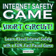 Internet Safety Game - You've Been Hacked! Gaming Computer, Computer Class, Computer Science, Computer Tips, Computer Teacher, Library Skills, Library Lessons, Safety Games, Cyber Safety