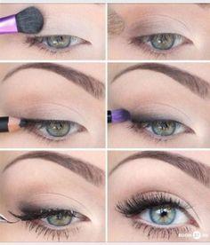67 Trendy makeup tutorial ojos natural looks eyeliner Simple Eye Makeup, Eye Makeup Tips, Mac Makeup, Makeup Eyeshadow, Beauty Makeup, Beauty Tips, Beauty Hacks, Makeup Ideas, Eyeliner Ideas