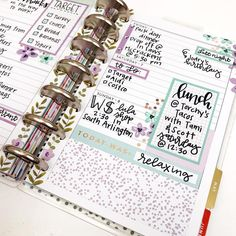 One of my favorite spreads I've ever done is now completed, and I'm seriously contemplating doing something similar for next week too! This… happy planner