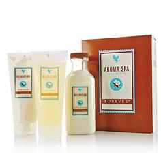 Aroma Spa Collection Enjoy the benefits of an aromatherapy spa experience right in the comfort of your own home! Forever Living Aloe Vera, Forever Aloe, Forever 21, Aloe Vera Gel, How To Massage Yourself, Forever Living Business, Massage Lotion, Forever Living Products, Home Spa