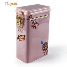 Coffee bean storage tin boxes.