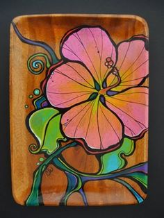 Wood Tray Portfolio-Click to see more examples – Colleen Wilcox Art