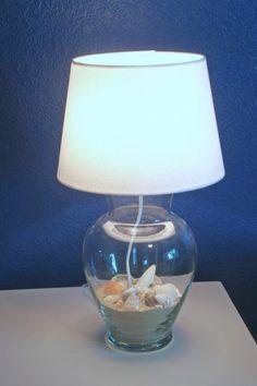 DIY Home Decor DIY Glass Vase Lamp