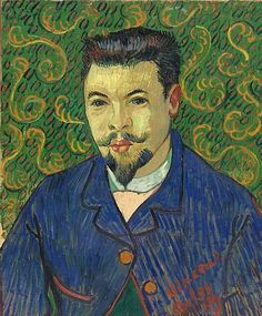 Vincent van Gogh, Portrait of Dr Félix Rey, oil on canvas, January 1889, The State Pushkin Museum of Fine Arts, Moscow