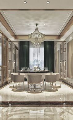 dining room 656047870698853057 - 40 Ripping Luxury Dining Room Design Ideas Source by redomeez Luxury Dining Tables, Elegant Dining Room, Luxury Dining Room, Luxury Rooms, Luxury Homes Interior, Luxury Home Decor, Dining Room Design, Dining Rooms, Dining Chairs