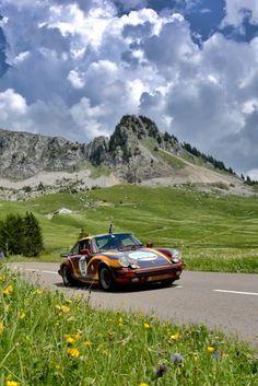 marquage vintage sur mesure  - Porsche - #Expocom