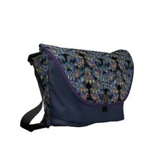 "Butterfly rickshaw bag courier bag $86.95 Vibrantly printed on rugged polyester and designed with a unique accessories system. Handmade with a focus on environmental sustainability, this bag combines beautiful form, function, and a small ecological footprint.  Water resistant, extra durable (machine-washable).  Large main compartment and 2 front pockets.  Lightweight and forms to your body.  Quick-adjust cam shoulder strap.  Velcro strips accessory system; Holds a 13"" laptop w/optional…"