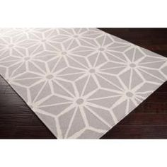@Overstock - Hand-woven in wool, this rug features colors of light gray, and white. Its unique design will make this rug stand out in any home.http://www.overstock.com/Home-Garden/Jill-Rosenwald-Hand-woven-Gray-Faller-Wool-Rug-8-x-11/6765118/product.html?CID=214117 $848.00