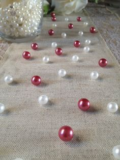 Vintage Table Pearl Ters Peach And White Pearls For Wedding Parties Special Events Decor Confetti Victorian
