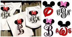 Introducing our new Mickey & Minnie inspired designs! Our iron-on transfers are a great way to personalize any white cotton shirt or bag. Perfect for your next trip to the amusement park or any fan of these beloved characters!This deal is for one Personalized Iron-on Transfer in your choice of 6 designs. Instructions included.PLEASE FOLLOW THE FORMAT OF YOUR DESIGN. For initial designs, enter a single letter on the personalization line. For monogram designs, enter your initials in the order ...