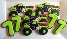 Monster Truck  Grave Digger Cookies  One Dozen