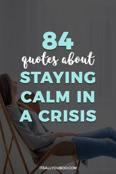 Are you stressed and anxious due to the current crisis? Trying to calm down and keep your cool? Click here for inspirational quotes about staying calm in a crisis, with the perfect stress-relieving mantras and words to remember. #StayCalm #CalmInACrisis #CalmDown #Mindfulness #KeepCalm #MentalHealth #StressRelief #StopStress #StressManagement #StressFree #EmotionalHealth #StressedOut #ItsAllYouBoo #Anxiety #StuckInside #StaySane #StuckAtHome #Isolation #EmotionalWellness #EmotionalHealth What Is Anxiety, How To Calm Anxiety, Anxiety Help, Stress And Anxiety, Anxiety Tips, Motivational Words, Inspirational Quotes, Motivating Quotes, Natural Anti Anxiety