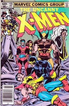 The Uncanny X-men (vol 1) #155 - 1st Brood, one of my favorite story lines.