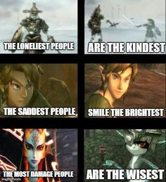 The Legend of Zelda -- is Link really sad...?
