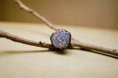 #Woodland #Sparkle #Lavender #Glitter #Ring #purple #jewelry #thecraftstar $8.00