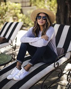 """Chillin' in the new @ragandbone Standard Issue sneakers! Story on sincerelyjules.com #RBStandardIssue @liketoknow.it www.liketk.it/27CcD #liketkit"""