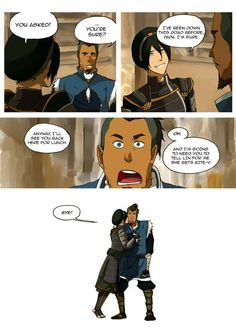 Tokka on Tumblr pt 3 (Avatar: Legend of Korra)