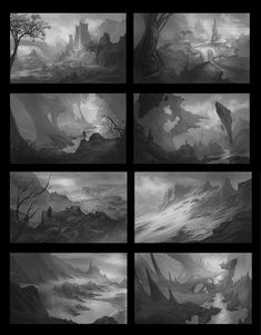 Environment Thumbnails, Caio  Chagas on ArtStation at https://www.artstation.com/artwork/environment-thumbnails-6af5fef2-75b8-408f-9738-e80b00d52c2e