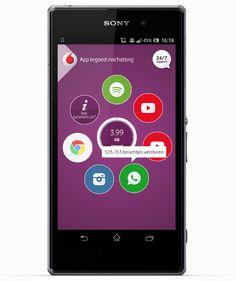 vodafone app interface - Google zoeken