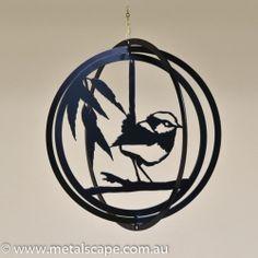 Metalscape Metal Garden Art Wren Windcatcher