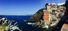 Breathtaking pictures can be taken from all over Cinque Terre!  This photo was taken on our trip on June 28, 2014  https://www.smarttrip.it/en/2948-florence/4-day-trips/184-cinque-terre-sea-and-believe