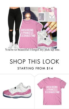 """""""F/Me @jayy-glizzy"""" by divap01 ❤ liked on Polyvore featuring NIKE"""