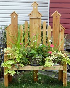 free images of birdhouse benches | BirdHouse Bench -new wood