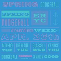 Have you heard? Registration is open for the spring #dodgeball season. #hlp #GlassellPark #venice #noho