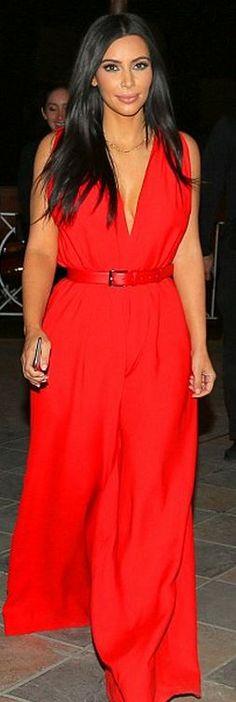 Kim Kardashian in Ludmila Couture